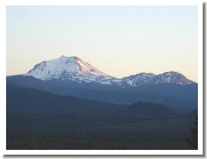 Mount Lassen, just outside Redding California