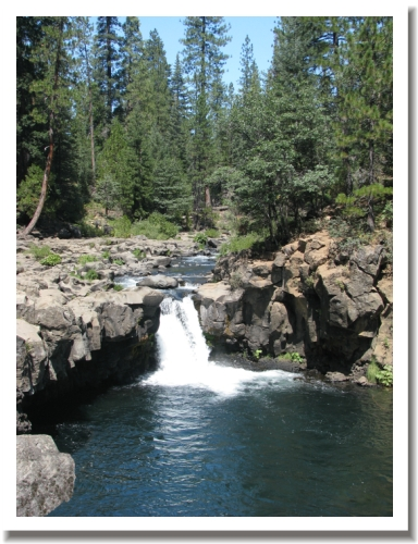 McCloud Falls - lower