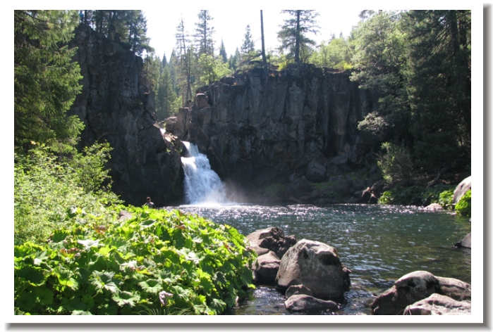 McCloud Falls - middle