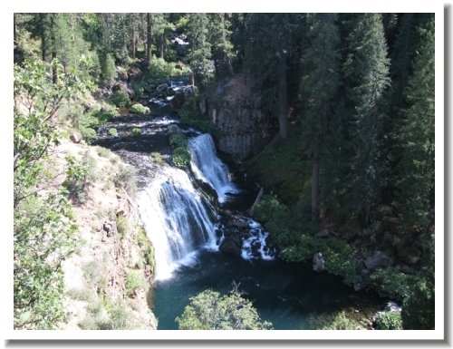 McCloud Falls - upper
