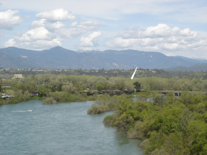 Redding California, Sundial Bridge