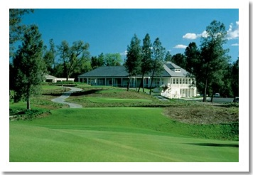 Tierra Oaks Clubhouse from #1 Fairway