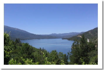 Whiskeytown Lake,  Redding California from the Visitors Center