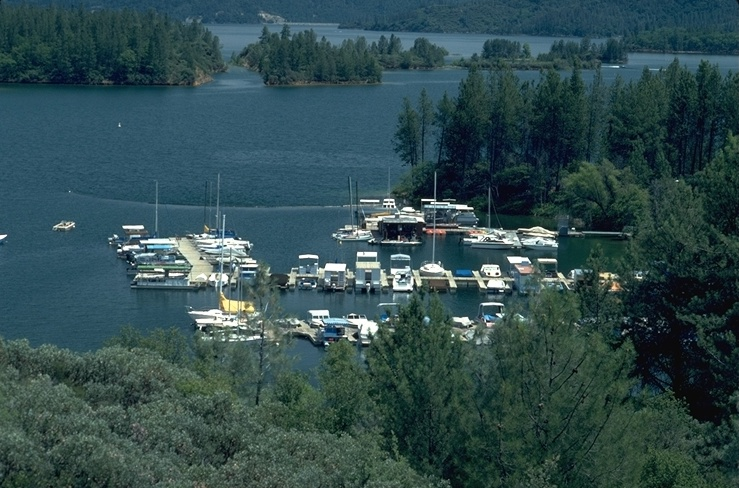 Oak Bottom Marina at Whiskeytown Lake, Redding