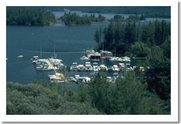 Oak Bottom Marina at Whiskeytown Lake at Oak Bottom,  Redding California