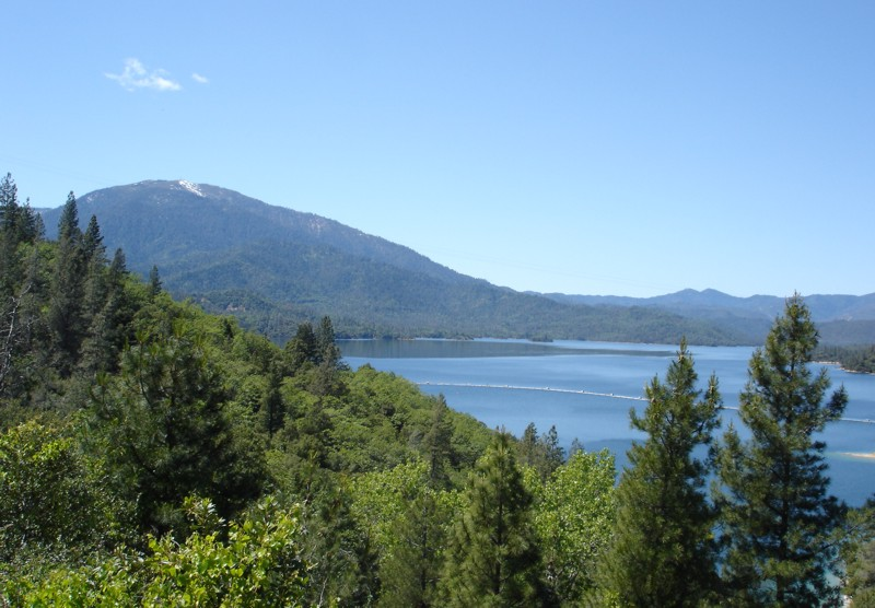 Whiskeytown Lake with Mt Bally
