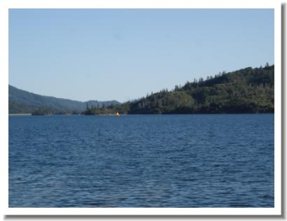Whiskeytown Lake in Snow,  Redding California
