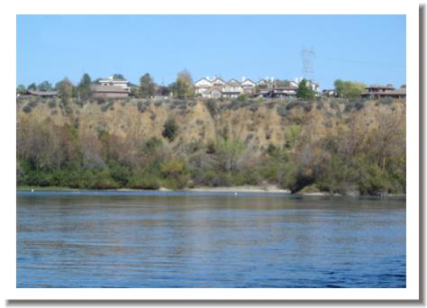 River Heights Condos, overlooking the Sacramento River