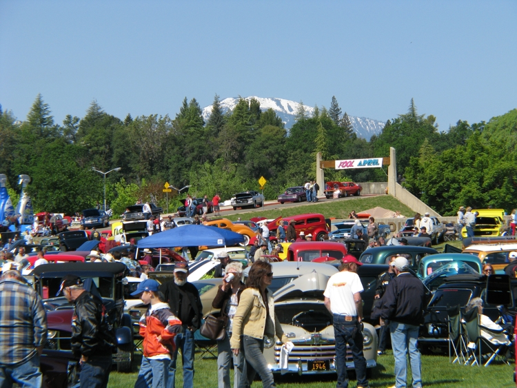 Mt Shasta Ca >> Kool April Nights Car Show - Redding CA., Classic Cars ...