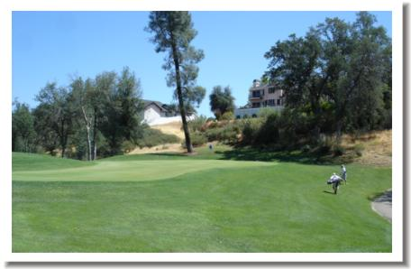 Gold Hills Golf Club #3 green, Redding California