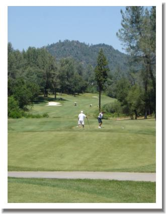 Tierra Oaks Golf Club, 18 Tee, Redding