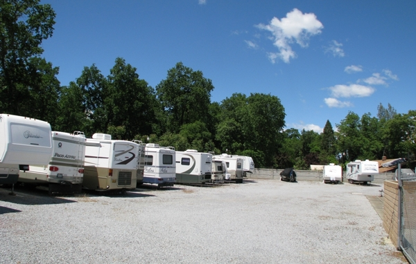 Shasta Hills Estates RV Parking area