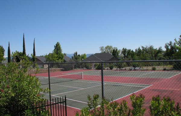 The Knolls - Redding CA - Tennis