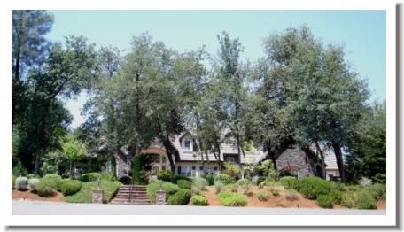 Tierra Oaks golf course real estate, Redding California