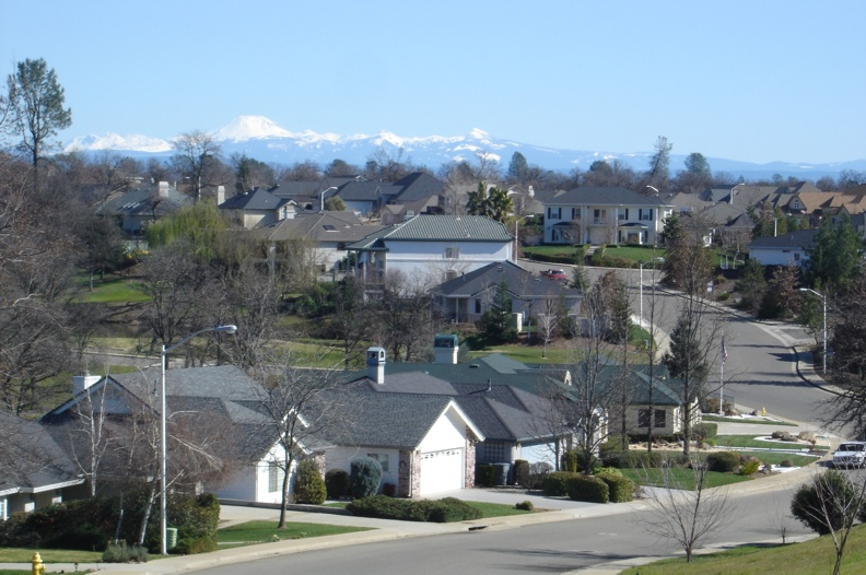 Gold Hills Subdivision, Redding California