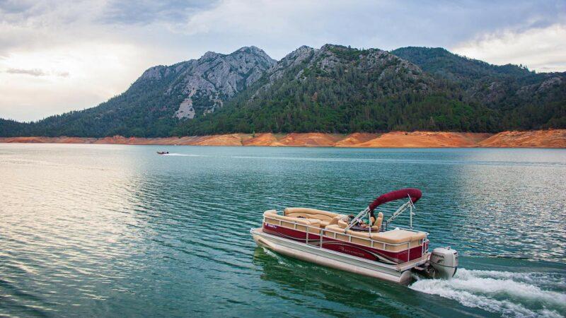Shasta Lake Boat